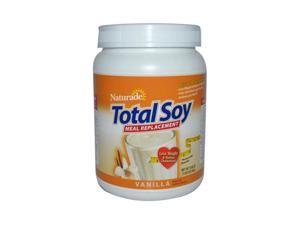 Naturade 0950667 Total Soy Meal Replacement, Vanilla - 19.05 oz