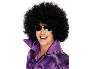 Smiffy's 240415 Mega Huge Afro Wig, Black - One Size