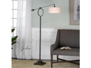 Uttermost 28082-1 Levisa Brushed Bronze Floor Lamp