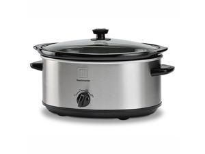 Toastmaster TM-701SC 7 qt. Oval Stainless Steel Slow Cooker