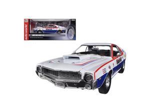 Autoworld AW215 1969 AMC AMX S S Kim Nagel Limited to 1250 Piece 1-18 Diecast Car Model