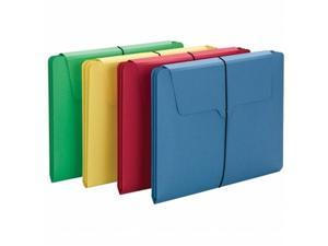 Smead 77213 3-In-1 Section Wallet - Assorted Colors