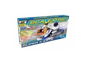 Scalextric C1334T Super Karts 1-32 Scale Slot Car Set, Age 8 Plus