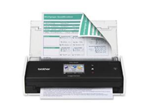 Brother BRTADS1500W Desktop Scanner,18PPM, 20 Pg Feed,11.2 in. x 4.2 in. x 3.4 in.,BK