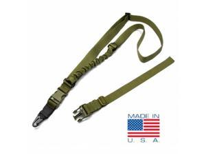 Condor Outdoor COP-US1021-001 Viper Single Point Bungee Sling, OD Green