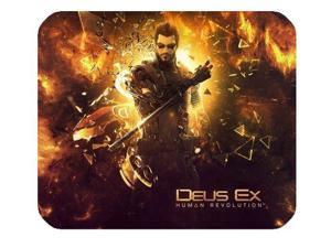 "Adam Jensen Deus Ex Human Revolution Mousepad Personalized Custom Mouse Pad Oblong Shaped In 8"" x 9"" Gaming Mouse Pad/Mat"