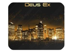 "Deus Ex Mousepad Personalized Custom Mouse Pad Oblong Shaped In 10"" x 11"" Gaming Mouse Pad/Mat"