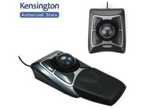 Kensington Original Trackball Expert Mouse Optical USB for PC or Mac(Diamond Eye & Large Ball Scroll Ring) with Retail Packaging