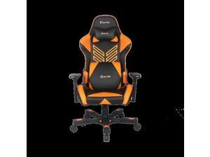 Clutch Chairz Crank Series Onylight Edition Gaming Chair (Black/Orange)
