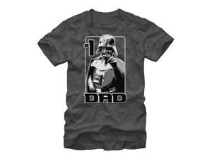 Star Wars Vader Number One Dad Mens Graphic T Shirt