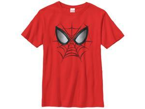 Marvel Spider-Man Web Face - Boys Graphic T Shirt