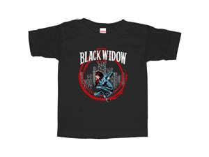 Marvel Black Widow Red Circle - Toddler Graphic T Shirt