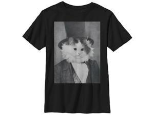 Lost Gods Cat Lincoln - Boys Graphic T Shirt