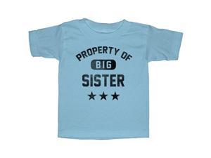 Lost Gods Property of Big Sister - Toddler Graphic T Shirt