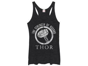 Marvel Thor Strength of Asgard Womens Graphic Racerback Tank