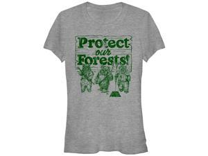 Star Wars Ewok Protect Our Forests Juniors Graphic T Shirt