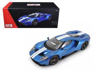 2017 Ford GT Blue Exclusive Edition 1/18 Diecast Model Car by Maisto