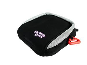 BubbleBum Travel Car Booster Seat - Black