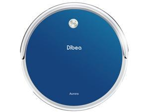 Dibea GT100 Aurora Planned Robotic Vacuum Cleaner with Dry & Wet Mop Gyroscope Navigation, Blue