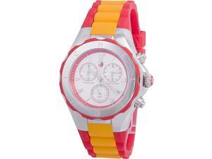 Michele MWW12F000067 40 mm Tahitian Jelly Bean Silicone Strap Ladies Watch
