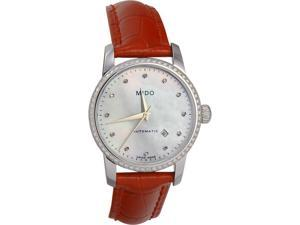 MIDO Women's Automatic Watch M76024697 with Leather Strap