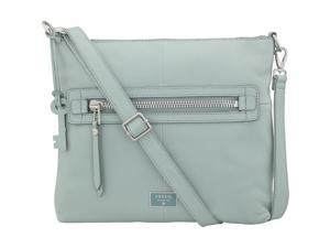 Fossil Dawson Top Zip Cross Body Bag, Sea Glass, One Size ZB6708116