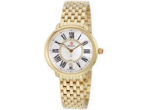 Michele Serein MOP Dial Gold Stainless Steel Ladies Watch MWW21B000017