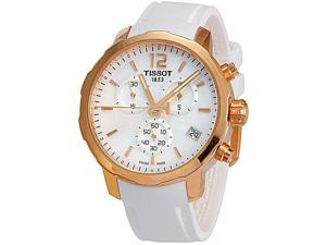 Tissot T0954173711700 Quickster Chronograph Mens Watch-MOP Dial Quartz Movement