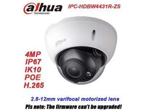 Dahua H2.65 IPC-HDBW4431R-ZS IP Camera 2.8mm ~12mm varifocal motorized lens 4MP IR50M with sd Card slot POE network camera