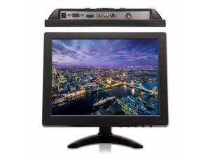 "PARROT SECURITY 10"" inch 1024x768 LED Color HDMI VGA AV BNC Portable Monitor Mini monitor Screen for PC Security DVR CCTV Camera System Industrial-grade Easy-to-use"
