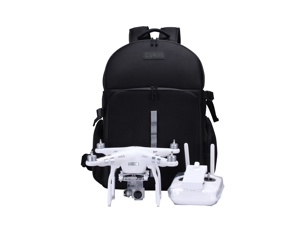 Lykus LS1511 DJI Water Resistant Backpack Bag For DJI Phantom 4 Pro, Phantom 4/3 Series/2 Lightweight, Soft Pads, Solid Protection