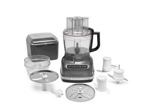 KitchenAid 11-Cup Food Processor with ExactSlice System (Liquid Graphite)