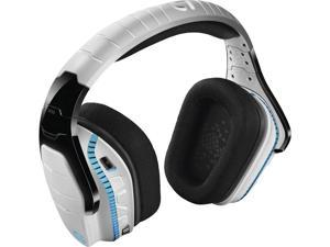 Logitech - G933 Artemis Spectrum Snow Limited Edition Wireless 7.1 Virtual Surround Sound Gaming Headset for PS4, Windows, Xbox One - White 981-000620