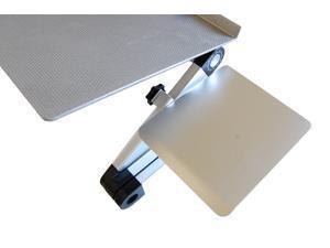 Workez Mouse Pad Ambidextrous Adjule Removable Tilting Aluminum Platform For