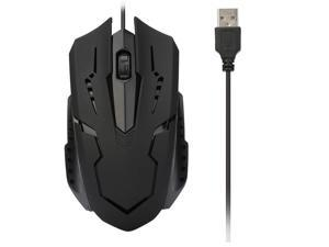 63e51c6324f 1200 DPI USB Wired Optical Gaming Game Mice Mouse For PC Laptop Computer  Cute Futural Digital Drop