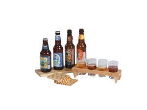 Picnic Plus Craft Beer Sampler Set Bamboo