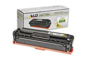 LD © Remanufactured Replacement Laser Toner Cartridge for Hewlett Packard CE322A (HP 128A) Yellow for use in the Color LaserJet ...