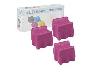 LD © Xerox Phaser 8400 Compatible Magenta (3 Pack) 108R00606 Solid Ink Cartridges