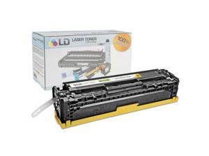 LD © Remanufactured Replacement for Hewlett Packard CF212A (HP 131A) Yellow Laser Toner Cartridge for use in HP LaserJet ...