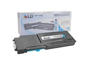 LD © Compatible Toner to Replace Dell 331-8432 (1M4KP) Extra High Yield Cyan Toner Cartridge for Dell C3760 and C3765 Laser ...