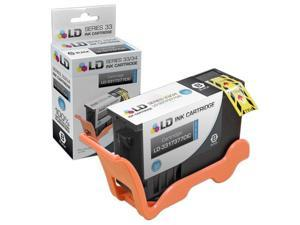 LD © Compatible 3317377 / T9FKK (Series 33/34) Extra High Yield Black Ink Cartridge for Dell V525w and V725w