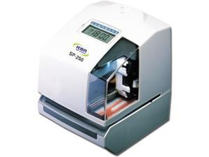 SP-250 Electronic Time Clock & Date Stamp is a multi-purpose machine that is commonly used for payroll, job costing or as document stamper. Free lifetime support + operational battery backup included.