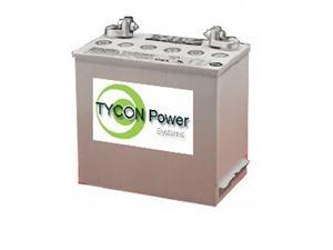 "Tycon Power Systems TPBAT6-180 6V 180Ah GEL SLA Battery with 5/16"" Stud and SAE"