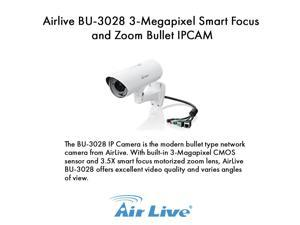 Airlive  BU-3028 3-Megapixel Smart Focus and Zoom Bullet IPCAM