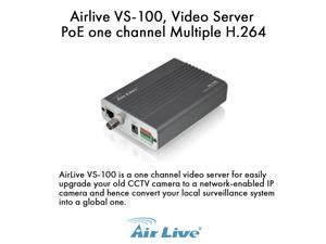 Airlive VS-100 H.264 PoE Video Server Upgrade your CCTV camera