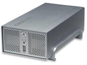 Intellinet Network Solutions 505895 2-Bay, 4-Terabyte with RAID, One External Hi