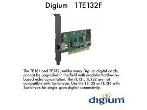 Digium 1TE132F One (1) Span Digital T1/E1/J1/PRI PCI Card