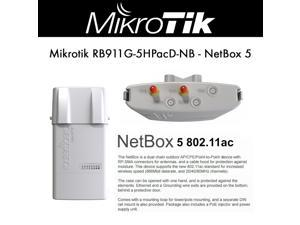 Mikrotik RB911G-5HPacD-NB NetBox 5 11ac Outdoor built-in 5Ghz wrls PoE OSL4