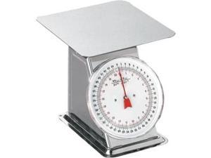 Weston Flat Top Dial Scale - 44 lb - Stainless Steel