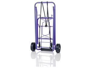 CTS Folding Luggage Cart Purpl